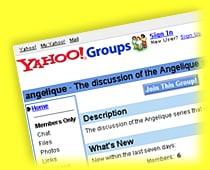 Yahoo!Groups website